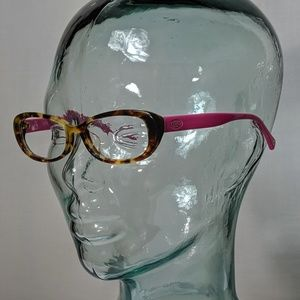 Auth. Coach pink and brown glasses